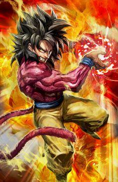 To much request, I bring you Super Saiyan Goku! By far my favorite Super Saiyan form from Goku. Dragon Ball Z, Dragon Z, Super Saiyan 4 Goku, Goku 4, Dbz Vegeta, Manga Anime, Fanart Manga, Akira, Fan Art