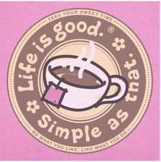 Coffee. Simple as that