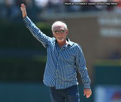 The Tigers honored Jim Leyland, the third-winningest manager in franchise history in a special pre-game, on-field ceremony Tiger Love, Detroit Tigers Baseball, Detroit Area, Michigan, Wisconsin, Best Fan, Girls Out, Nebraska, Oklahoma