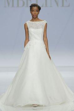 Vestidos de novia con cuello barco 2017. ¡Elegancia pura! Image: 4