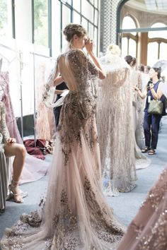 Fashion : Zuhair Murad Couture FW17  Posted by x