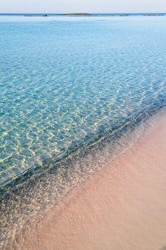 Elafonisi Beach - Crete, Greece.