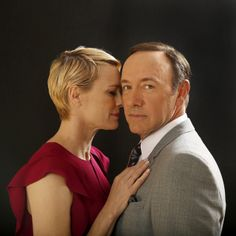 Robin Wright and Kevin Spacey, photographed byKirk McKoyforLos Angeles Times, 2013.
