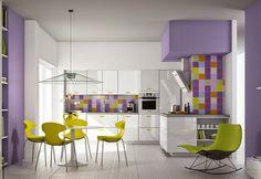 BAIRES Deco Design ... Diseño de Interiores, Arquitectura y Decoración en un solo Sitio!: Decoración de cocina en alto contraste