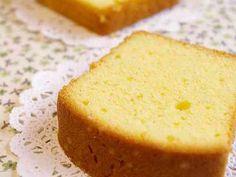 シンプルで極上な☆バニラパウンドケーキの画像