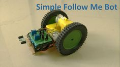"""A follow me robot"" with no microcontroller! (via instructables)- All"