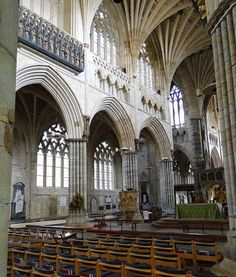 CJE in Exeter: Exeter Cathedral - Minstrels' Gallery