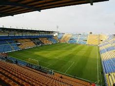 El Madrigal Team Games, Football Stadiums, European Football, Great Team, Golf Courses, Soccer, Sports, Hs Sports, Futbol