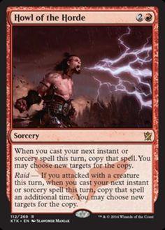 Howl-of-the-Horde-x4-Magic-the-Gathering-4x-Khans-of-Tarkir-mtg-card-lot-rare