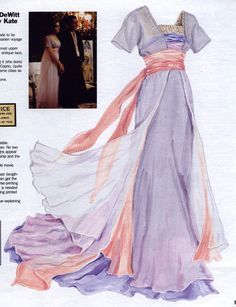 """The """"sinking ship"""" dress from Titanic. I've wanted to make this one for a number of years."""