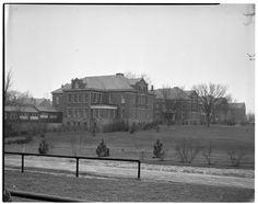 Exterior, Lapeer State Home and Training School, Lapeer, Michigan, March 1937