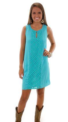 the blue door boutique Faberge Dress $46