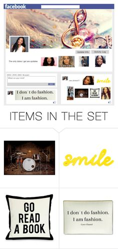 """Gabriella's Facebook page"" by jenny-on-fleek on Polyvore featuring art"