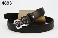 armani belt sale (black)