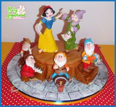 Snow White party - Cake by Bety'Sugarland