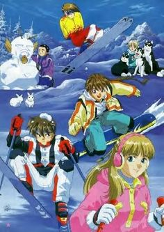 My favorite show growing up was this! Gundam Wing!