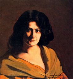Ignacio Zuloaga - Portrait of Lucienne Bréval