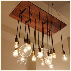 Industrial MOD Must Have Lighting bulb lamps pendant: Urban Chandy