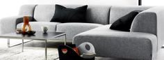 Bolia Sofa, Couch, Seville, Grey, Interior, Furniture, Home Decor, Gray, Sevilla