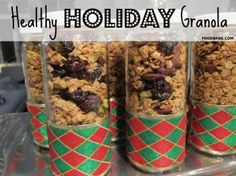Healthy Holiday Granola - for any time of the year!