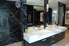 marble in a luxury bathrooms by maison valentina nero-maquina nero-maquina