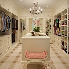 Storage and Closets - wow, when I grow up.... This is my dream.... Wardrobe Design, Walk In Wardrobe, Walk In Closet, Wardrobe Organisation, Closet Organization, Closet Storage, Makeup Organization, Walk In Robe Designs, Closet Designs