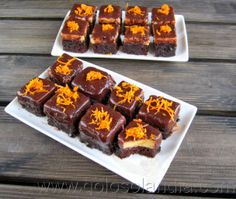Pastelitos de chocolate y naranjaPastelitos de chocolate y naranja fácil receta casera , paso a paso.  http://www.golosolandia.com/2014/03/pastelitos-de-chocolate-y-naranja.html