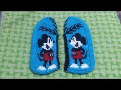 Tunus işi patik fare modeli yapımı 1.BÖLÜM (KOLAY ANLATIM) - YouTube Soft Slippers, Cross Stitch Borders, Crochet Baby Booties, Tunisian Crochet, Baby Knitting Patterns, Baby Shoes, Sneakers, Youtube, Kids