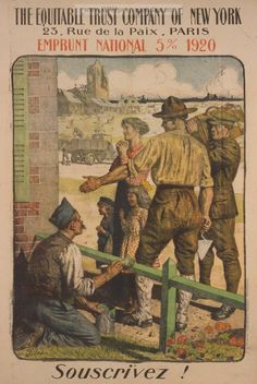 Examples of Propaganda from WW1 | French WW1 Propaganda Posters Page 16