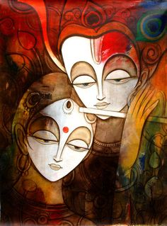 By Reena kapoor Krishna Painting, Krishna Art, Radhe Krishna, Shree Krishna, Lord Krishna, Krishna Images, Shiva, Worli Painting, Krishna Flute