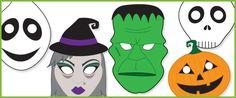 Downloadable Halloween Masks