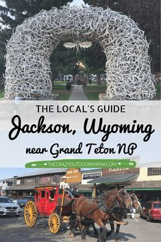 If you are visiting Grand Teton NP, you need to spend some time in Jackson, Wyoming along the way! Check out the 15 BEST family activities in Jackson from a local Wyoming Vacation, Yellowstone Vacation, Ski Vacation, Grand Teton National Park, Yellowstone National Park, National Parks, Jackson Hole Wyoming, Le Far West, Winter Scenes
