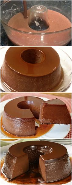 Portuguese Recipes, Dessert Recipes, Desserts, Doughnut, Food Videos, Sweet Recipes, Mousse, Easy Meals, Food And Drink