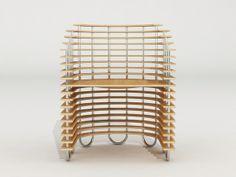 Vision 2 - chair concept by Svilen Gamolov