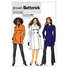 Buy Butterick Women's Jacket and Coat Sewing Pattern, 5685 Online at johnlewis.com