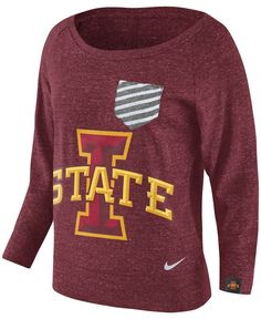 Nike Women's Iowa State Cyclones Gym Vintage Pocket Crew Fleece