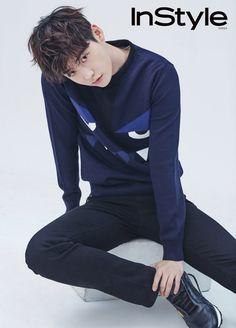 Lee Jong Suk - InStyle Magazine October Issue '16