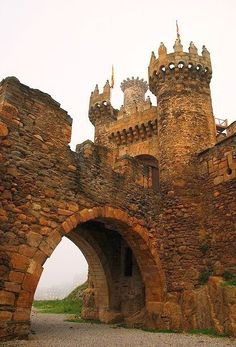 Ponferrada Castle, Galicia, Spain  #MediumMaria