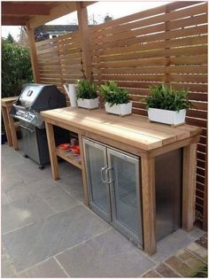 Most current Photos buitenkeuken outdoor kitchen Concepts Out of doors kitchein pattern is extremely worthwhile inside of the property design industry. Outdoor Kitchen Plans, Outdoor Kitchen Design, Outdoor Cooking, Patio Kitchen, Rustic Outdoor Kitchens, Rustic Kitchen, Country Kitchen, Diy Kitchen, Outdoor Spaces