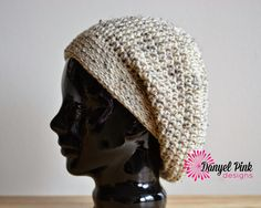 I know there are only a million other slouch hat patterns out there, but I haven't found one that works well for me, so I whipped up my...