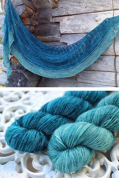 Ravelry: Lighthouse shawl with Knitlob's Lair Luonnotar - knitting pattern by Janina Kallio.
