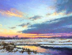Pastel landscape painter Jacob Aguiar really shines when it comes to painting sunsets. Here he offers tips on how to capture the effects of the setting sun.