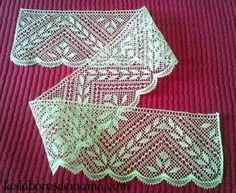 Puntilla Bridal Veils And Headpieces, Bobbin Lacemaking, Bobbin Lace Patterns, Needle Lace, Lace Making, Crochet Designs, Hobbies And Crafts, Tatting, How To Make