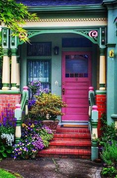 21+ ideas exterior house colors bright colour