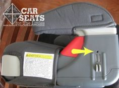Graco TurboBooster booster car seat - do you have screws in the armrests? You should! www.csftl.org
