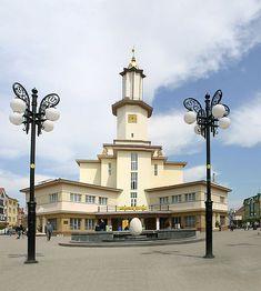 Townhall Ivano-Frankivsk, Galicia, Ukraine