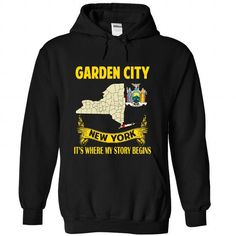 Garden City - Its where my story begins! - #gifts for girl friends #gift for girlfriend. OBTAIN => https://www.sunfrog.com/Hobby/Garden-City--Its-where-my-story-begins-2829-Black-Hoodie.html?68278