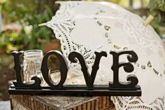 Love Sign Wedding Decoration