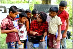 First light school for impoverished children in remote village in Bangladesh @gmb_akash