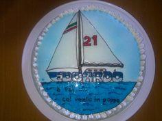 torta barca a vela